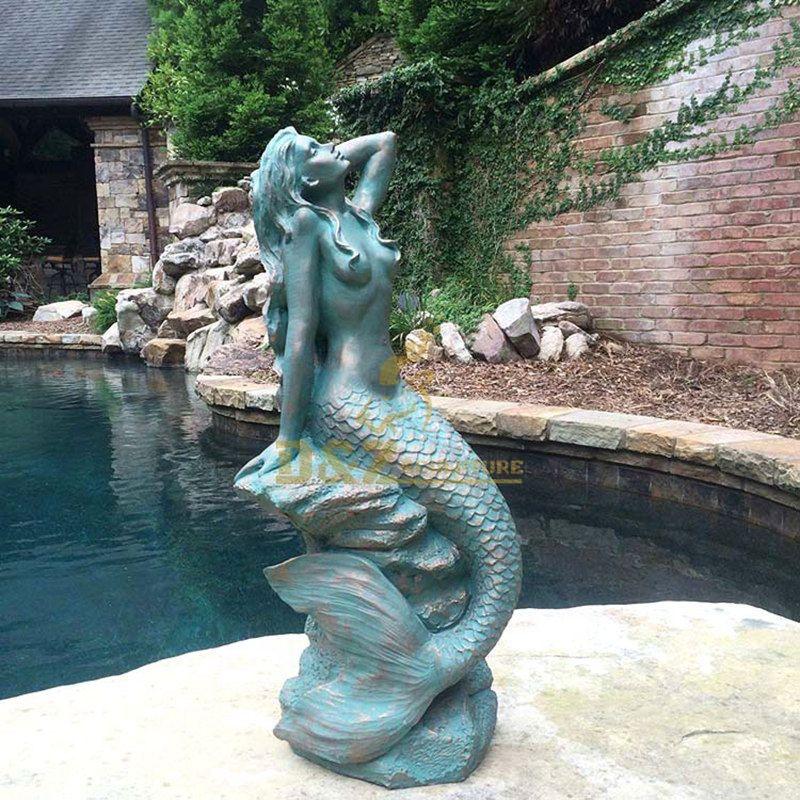 Outdoor Mermaid Statues