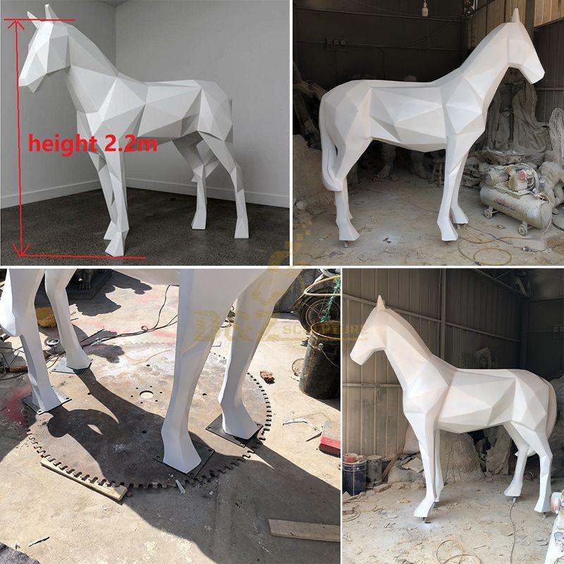 resin horse statue