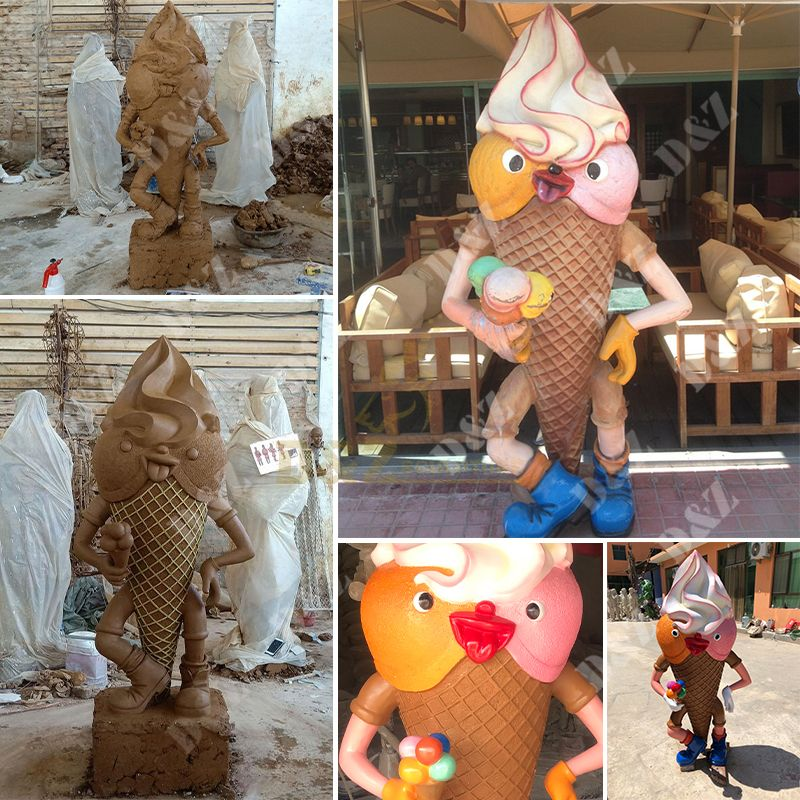 ice cream statues