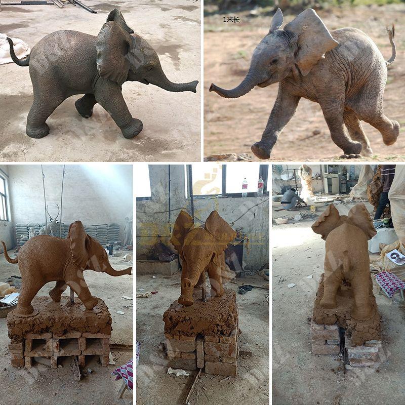 elephant statuettes