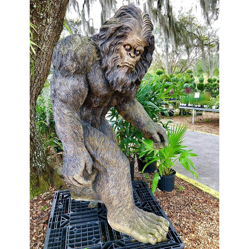 life size bigfoot statue