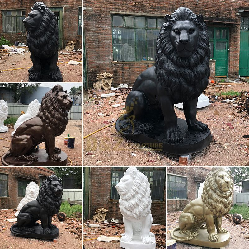 statues of lions