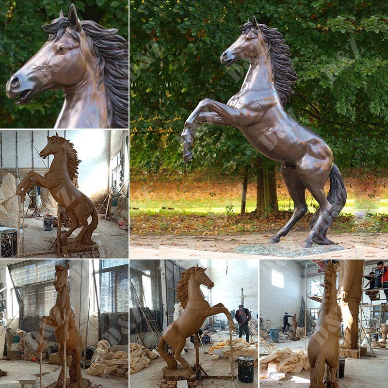 Fiberglass outdoor Horse Statue