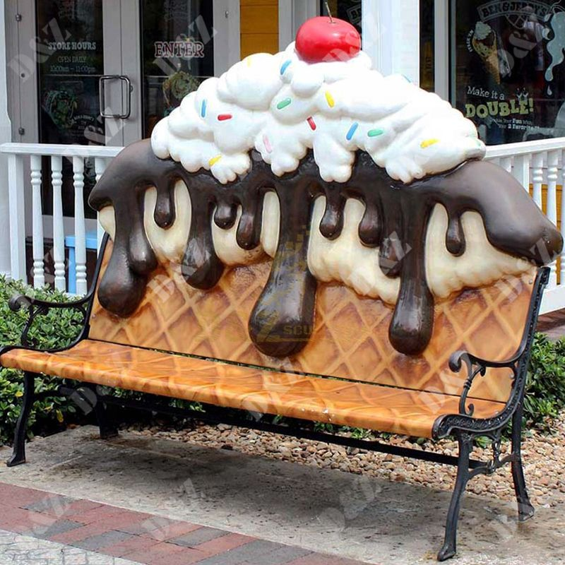 Ice Cream Chair sculpture For Sale