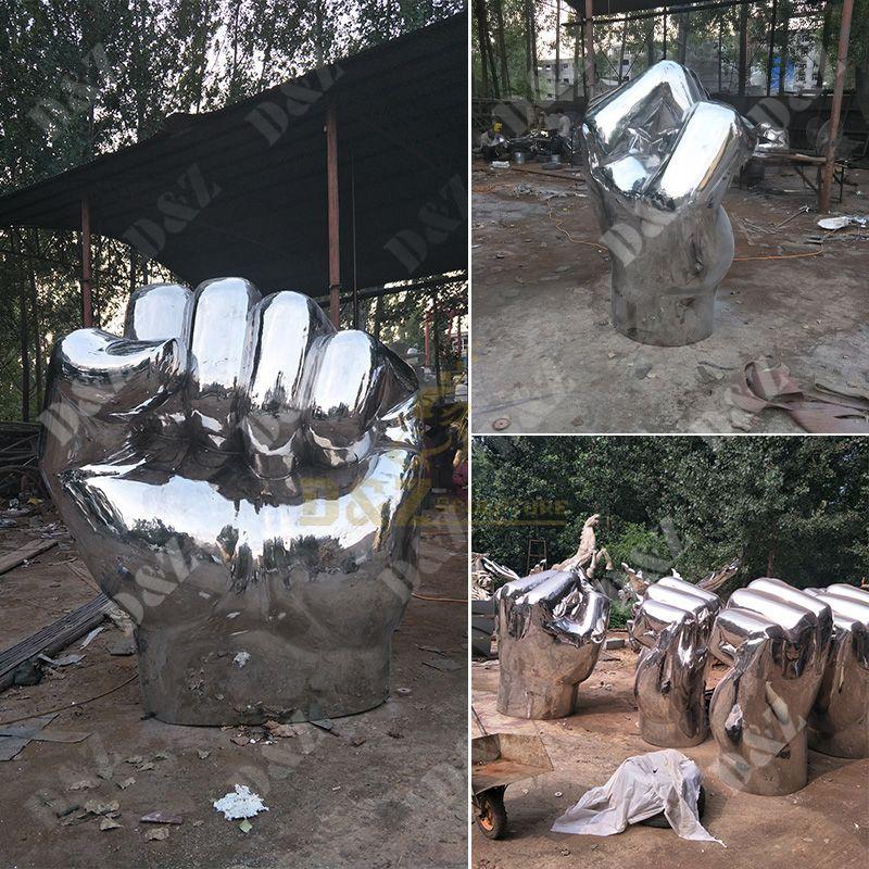 sculpture of hand