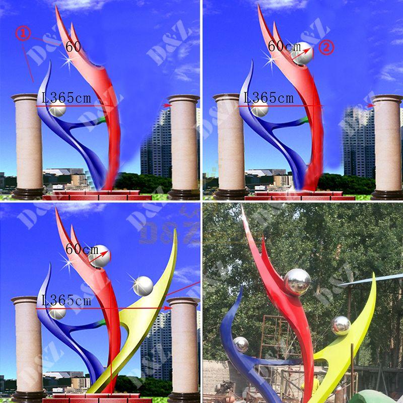 morden art sculpture