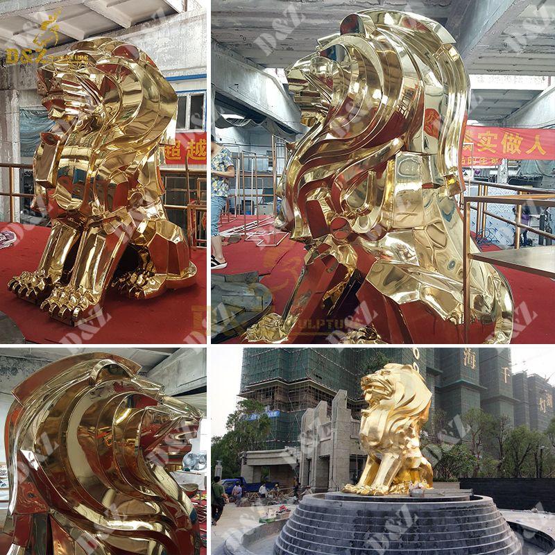 lion statue outdoor