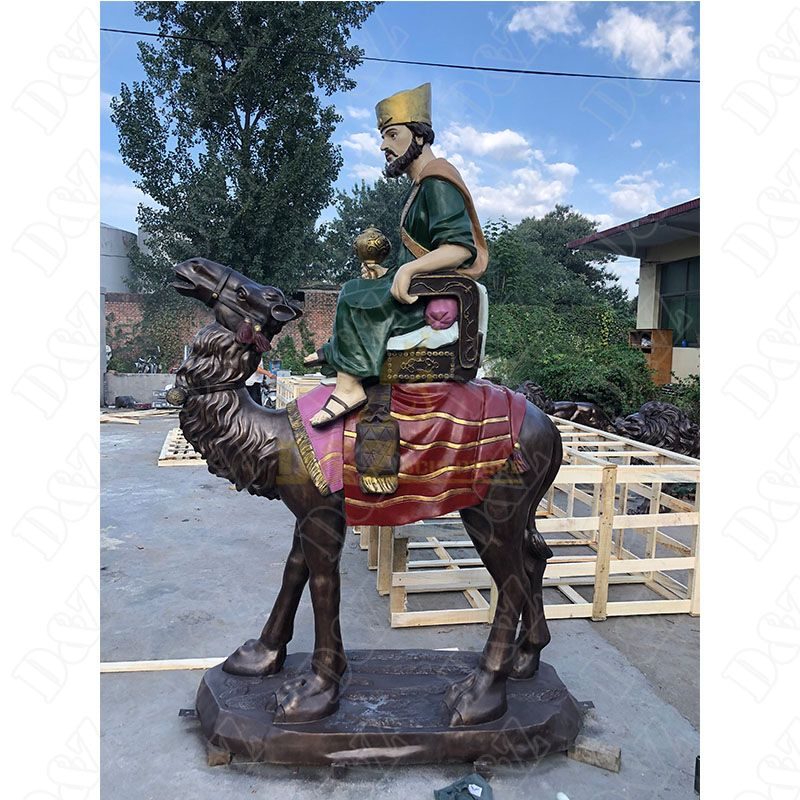 Camel Riding Statues For Sale
