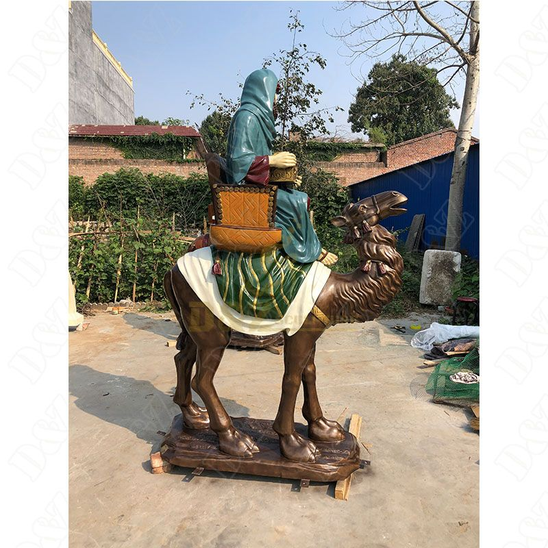 Large Camel Bronze Statues For Sale