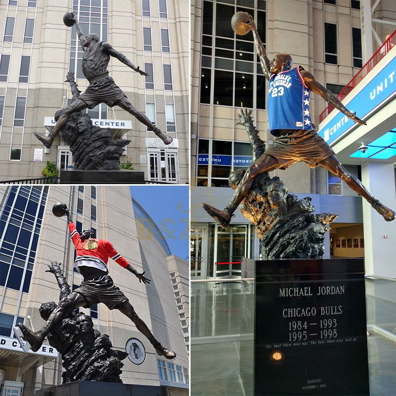 chicago statues
