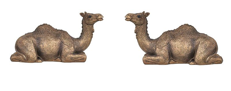 High Quality Garden Ornaments Metal Bronze Camel Statue