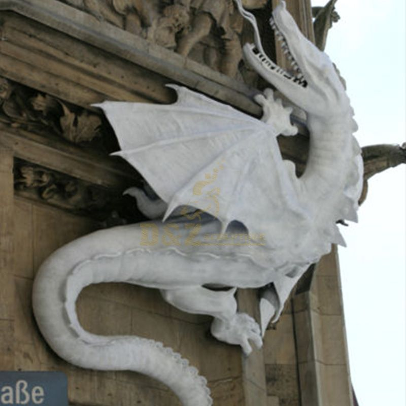 large outdoor dragon statue