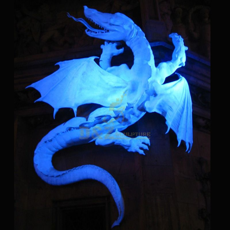 outdoor dragon statue