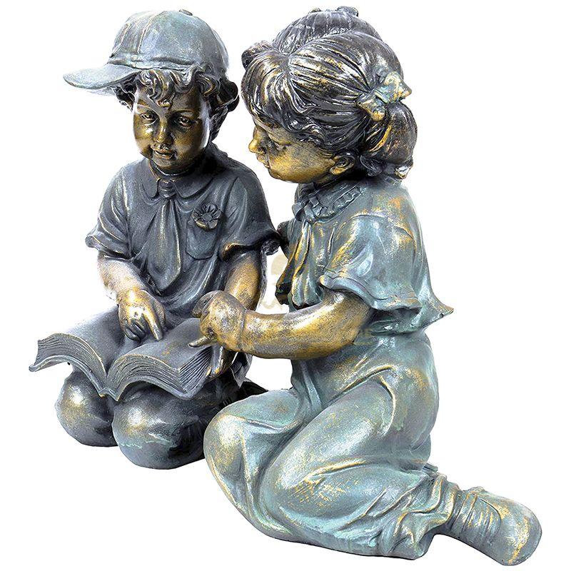 children's garden statue
