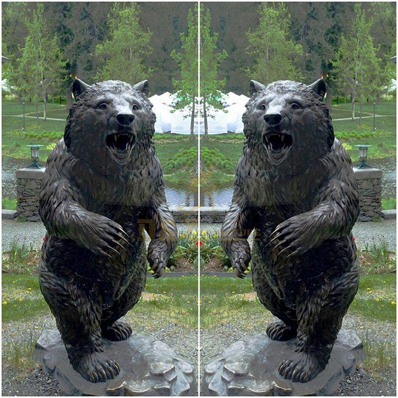 Modern Arts and Designs Bronze Bear  for Garden Decoration
