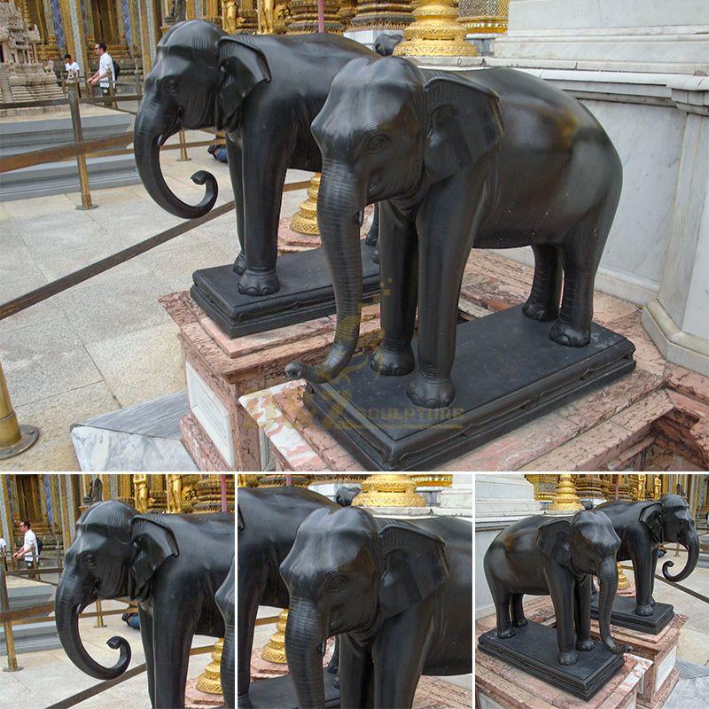 large elephant statues