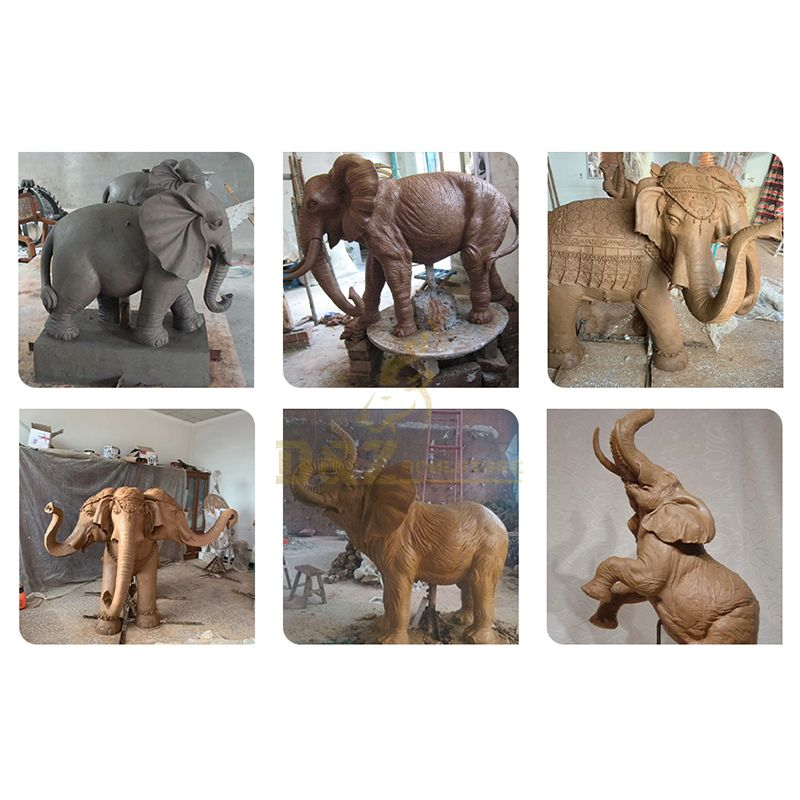 indian elephant statues