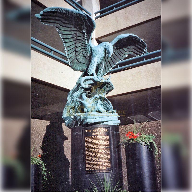 Flying Eagle Statues