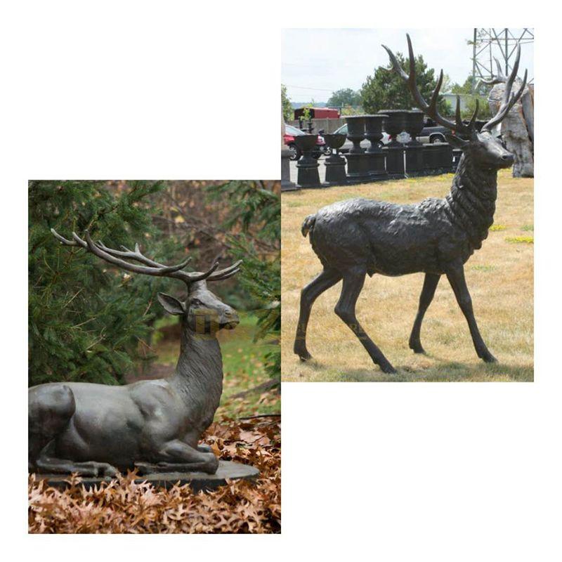 elk statue outdoor