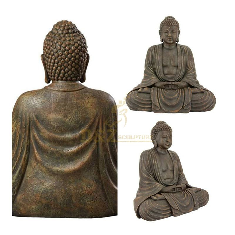 Hand-cast large high quality large bronze Buddha statue for sale