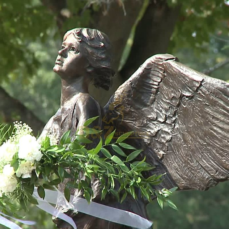 life size Angel of hope statue