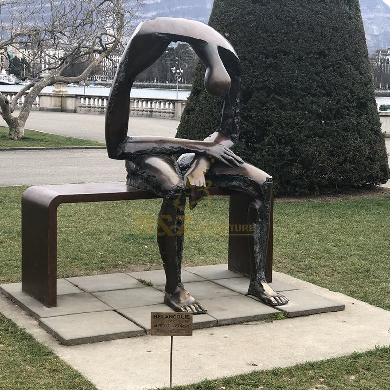 abstract modern statue