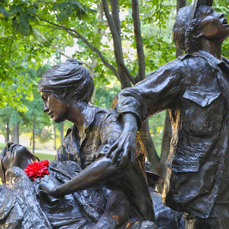 Vietnam women memorial statue replica