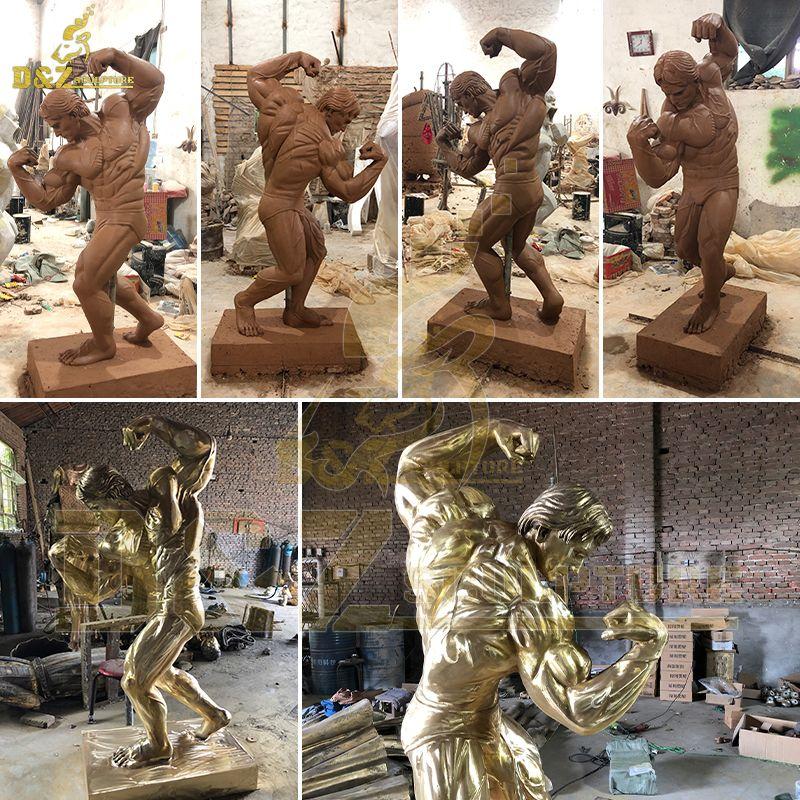 arnold statue columbus replica