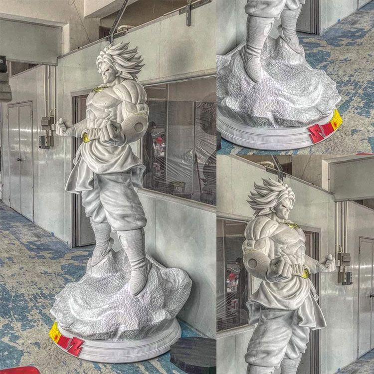 Dragon ball z life size super broly statue for sale