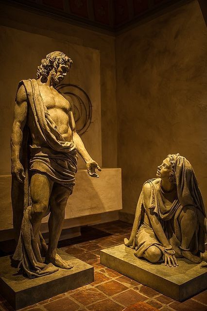 jesus and mary magdalene statue