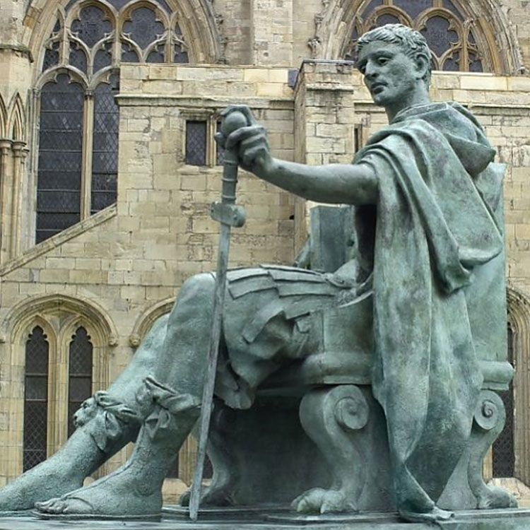 statue of constantine the great in york