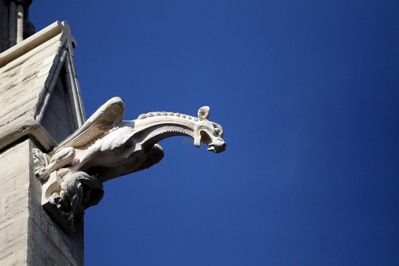 gargoyle statue for roof