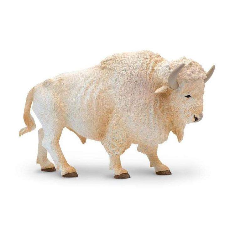 small white buffalo statue for sale