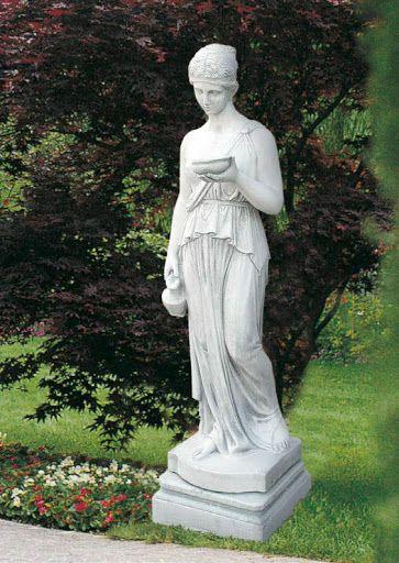 hebe statue garden
