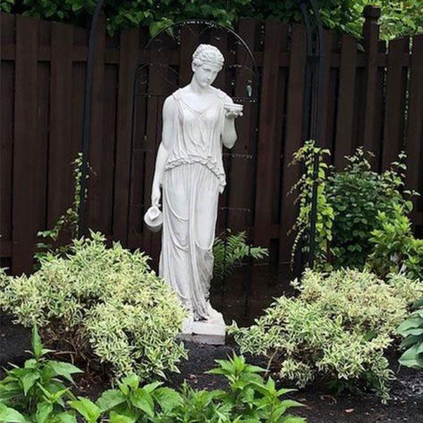 hebe stone statue