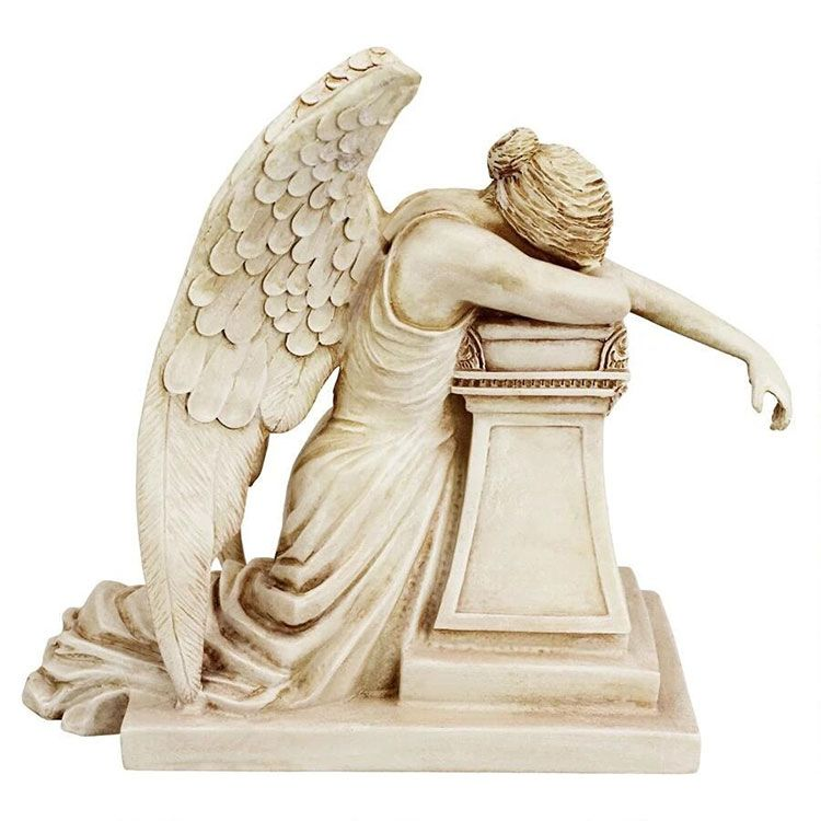 weeping angel of grief statue