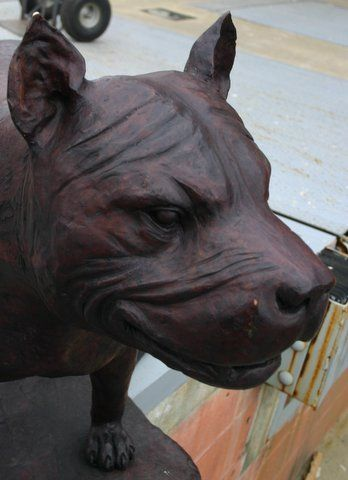 pit bull statues for sale