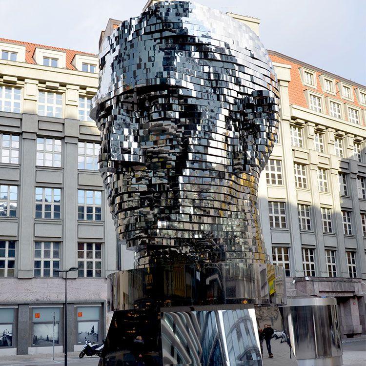 head of Franz Kafka