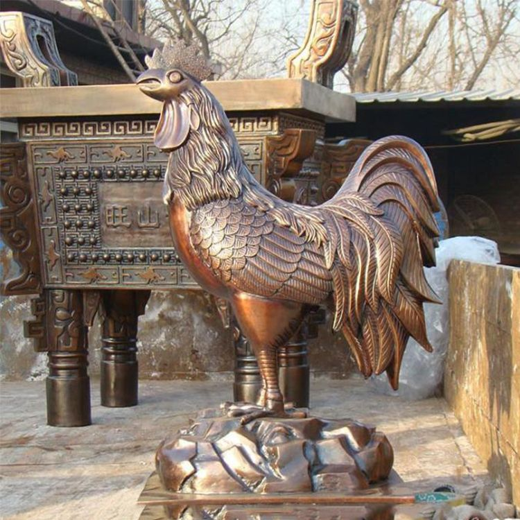 Giant Rooster Statue for sale