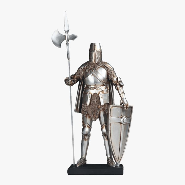suit of armor statue