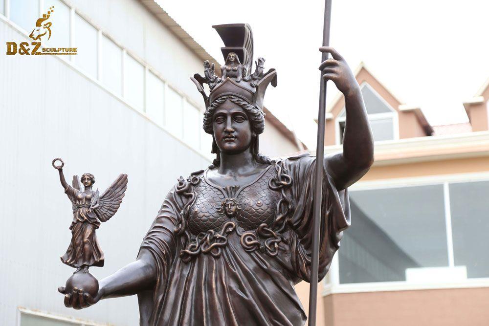athena statue greece