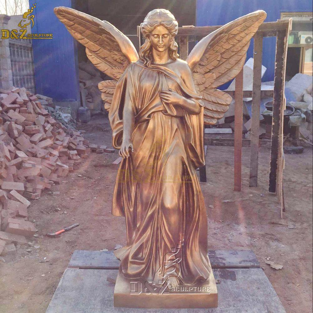 guardian angel outdoor statue