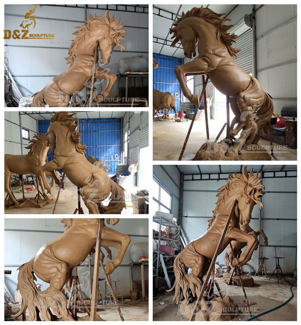 rearing horse statue for sale