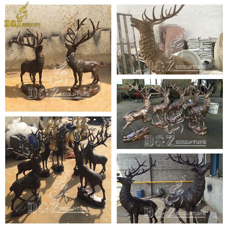 life size elk sculptures for sale