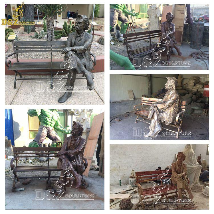 mark twain statue for sale