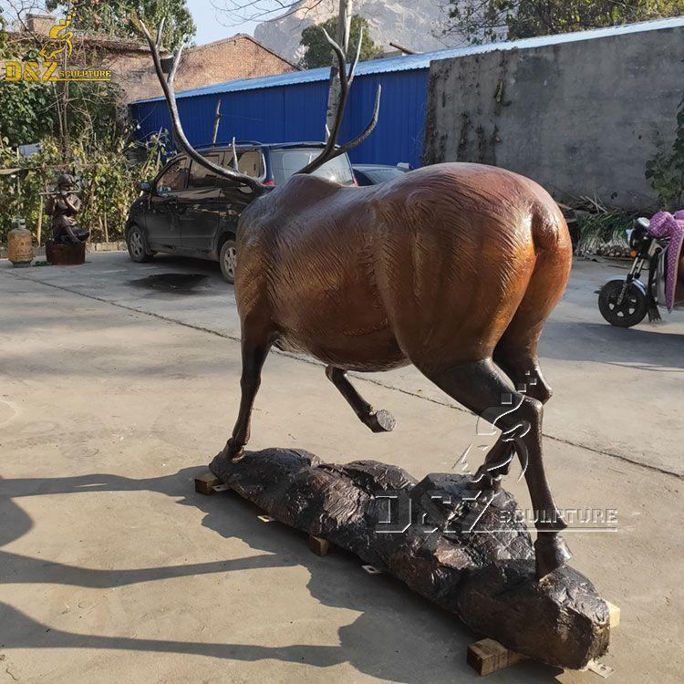 wapiti sculpture for sale