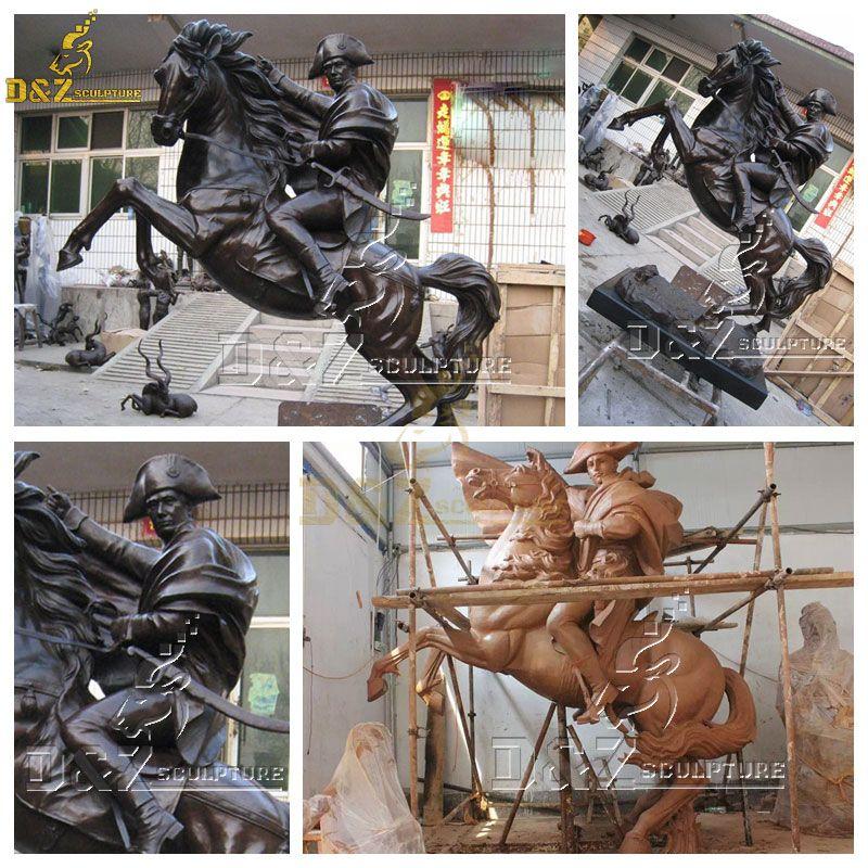 Napoleon on horse statue for sale
