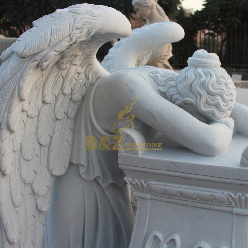 weeping angels for grave sites