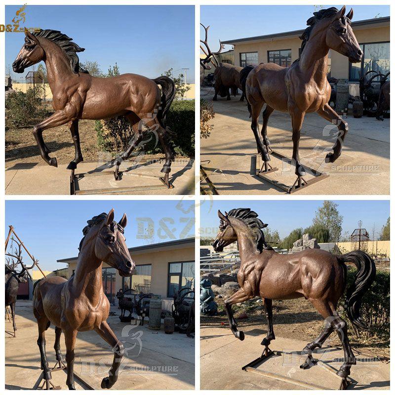 outdoor horse garden statue for sale