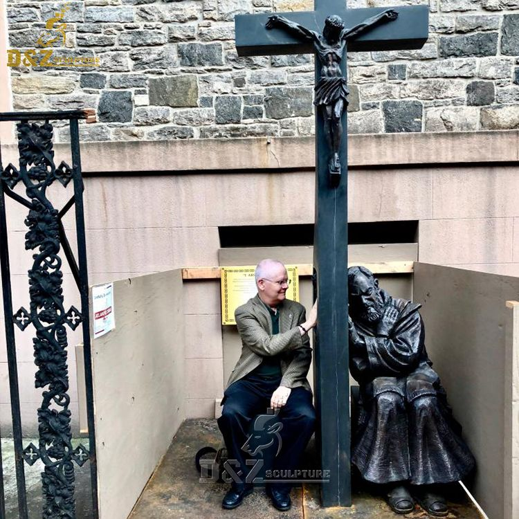 padre pio confession statue